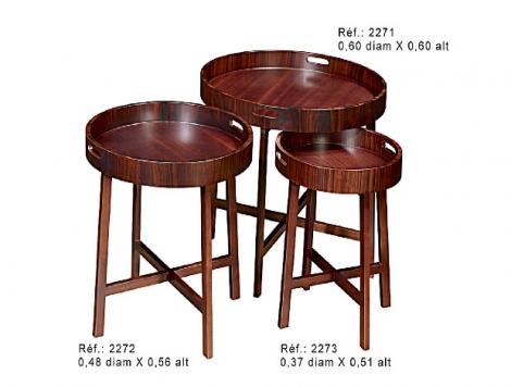 Mesas de Chá
